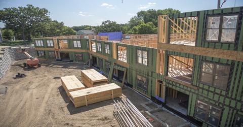 St. Anthony Park Construction photo