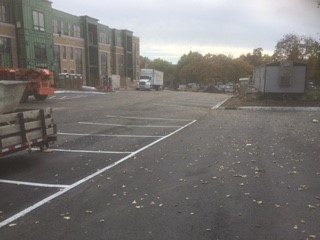 St. Anthony Park Construction - parking lot