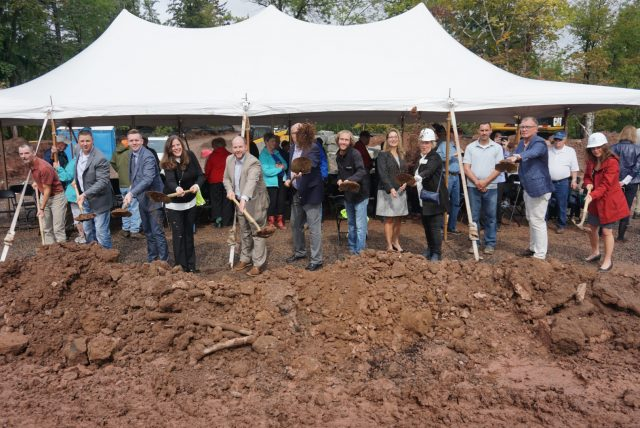 Future Residents Participate in Groundbreaking for Zvago Lake Superior Living Complex
