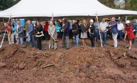 Zvago team at construction site