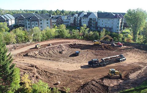 Duluth Construction Site