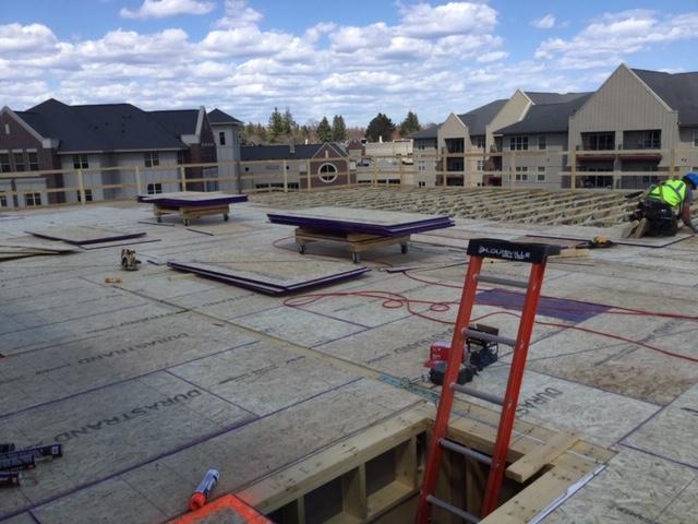 Construction at Lake Superior